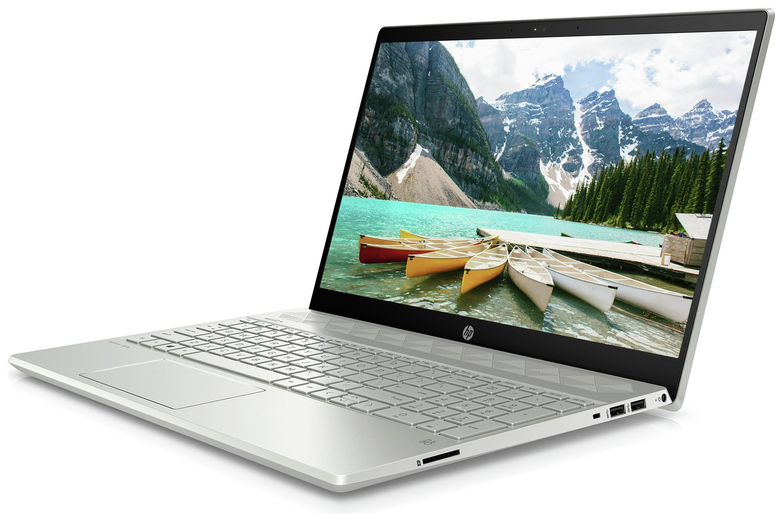 HP Pavilion 15.6 Inch i3 8GB 128GB Laptop - Silver