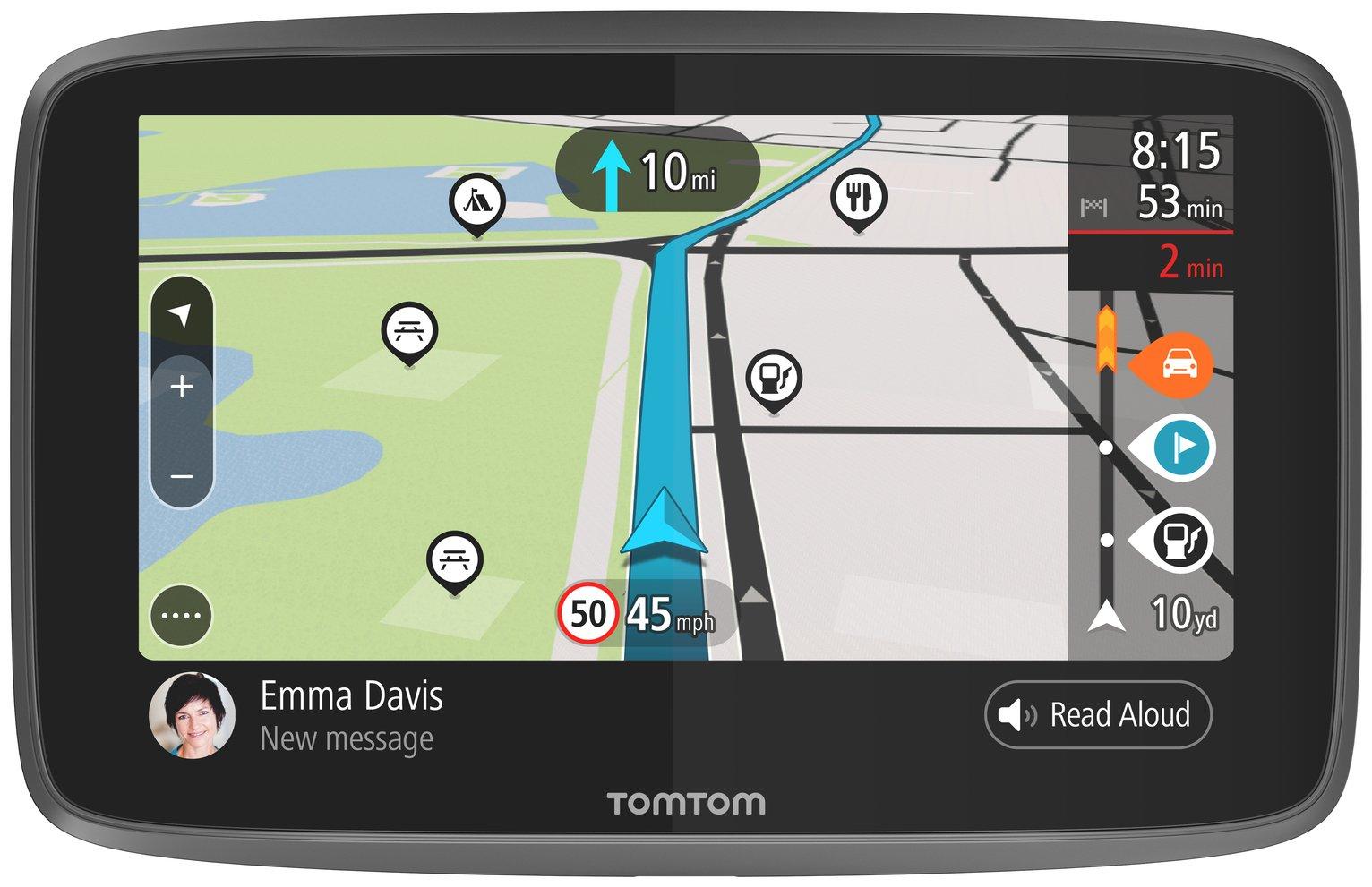 TomTom GO Camper 6 Inch Lifetime World Maps Sat Nav