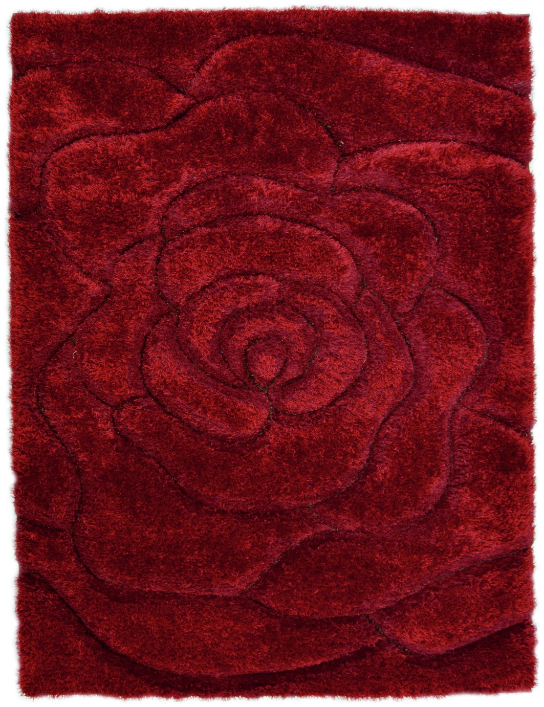 Fresno Rose Rug - 80x150cm - Red