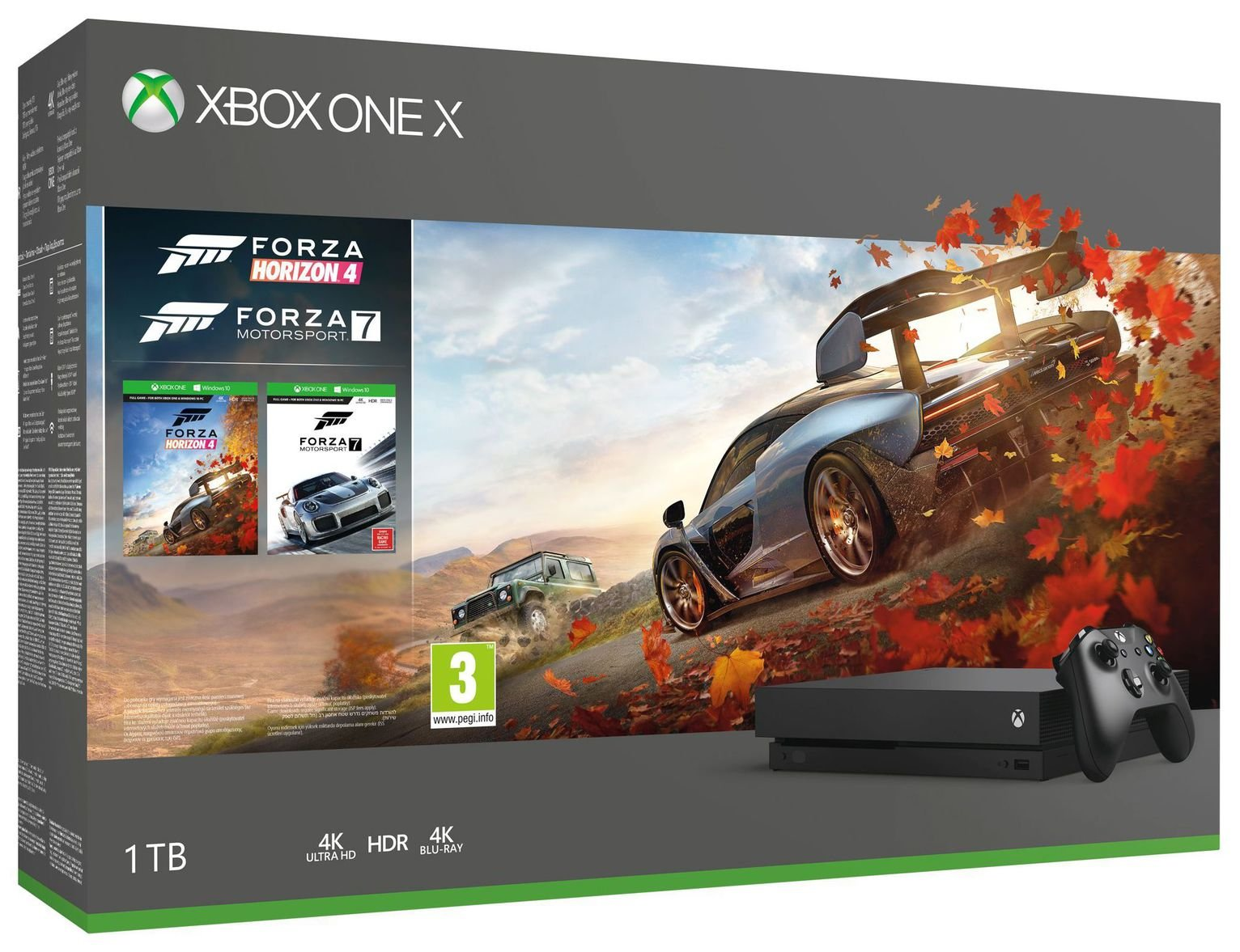 Xbox One X 1TB Console & Forza Bundle