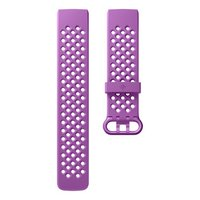 Fitbit Charge 3 Smartwatch Berry Band - Large