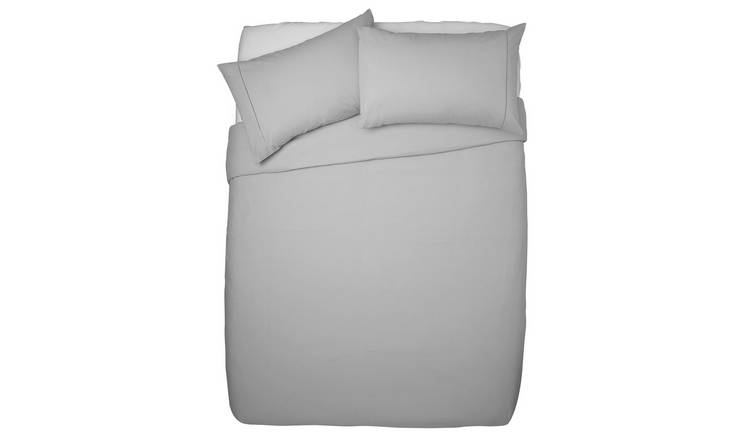 Argos Home Cool Cotton Duvet Set - Double