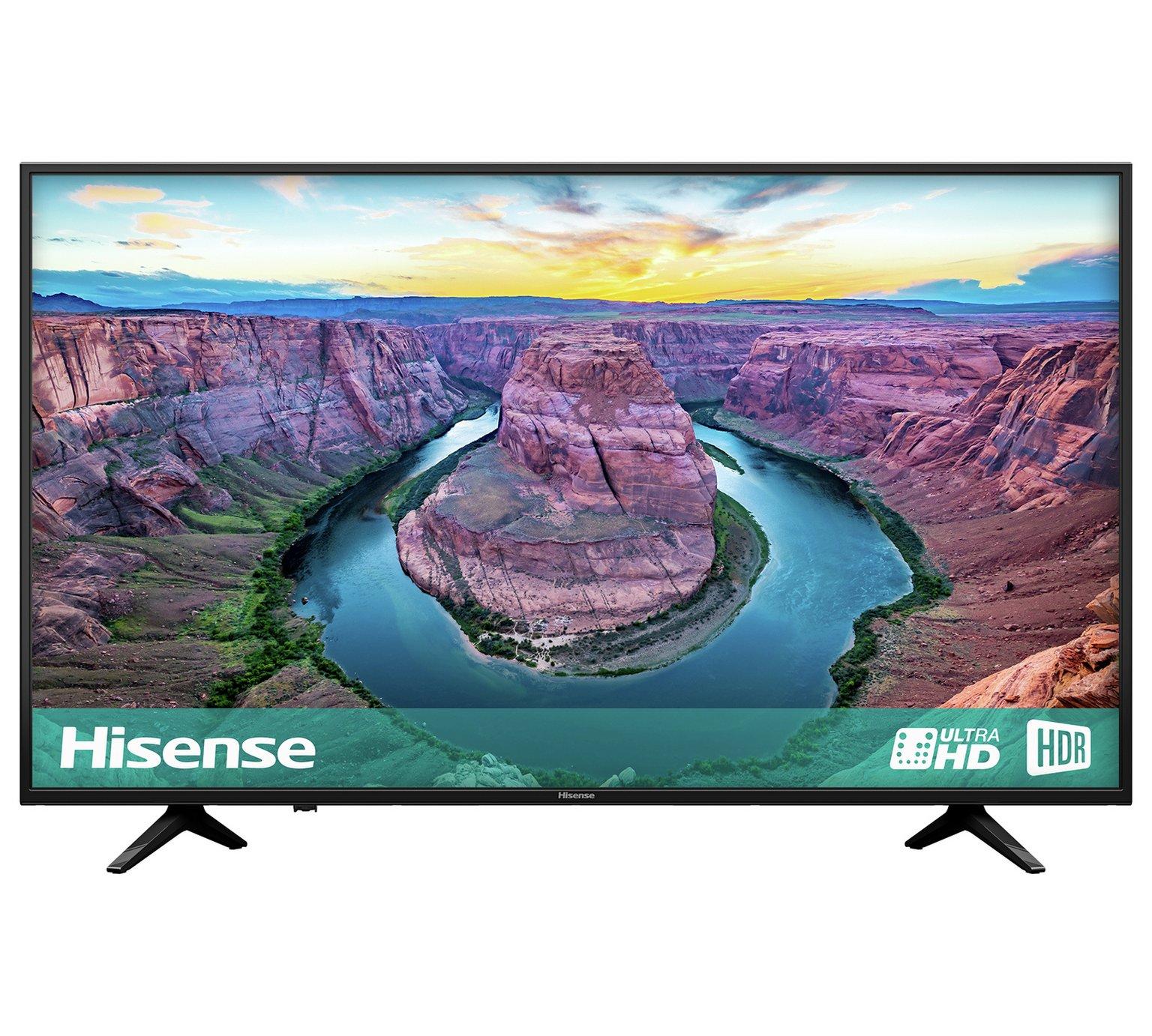 Hisense 50 Inch H50AE6100UK Smart 4K UHD TV with HDR