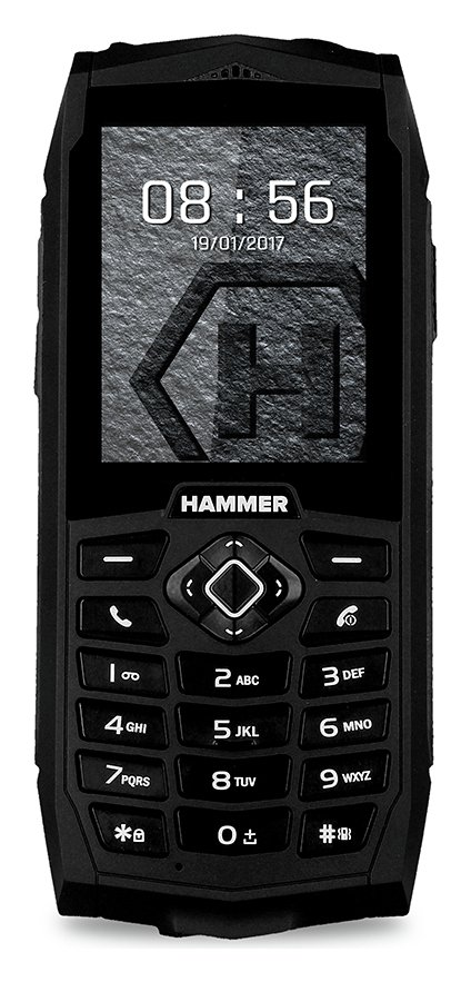 SIM Free Hammer 3 Rugged Mobile Phone – Black