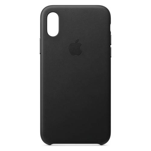 size 40 1cf6a 37ab9 Buy Apple iPhone Xs Leather Phone Case - Black   Mobile phone ...