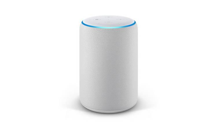 Buy Amazon Echo Plus Sandstone White Smart Speakers Argos