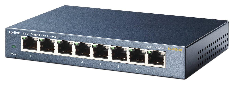 TP-Link 8 Port Gigabit Ethernet Switch