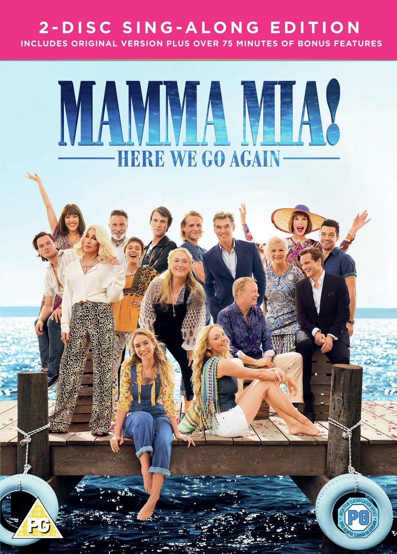 Mamma Mia: Here We Go Again! DVD