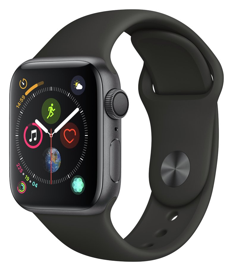 Apple Watch S4 GPS 40mm - Space Grey Aluminum / Black Band