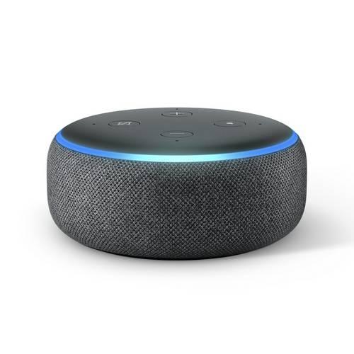 Buy Amazon Echo Dot Black Smart Speakers Argos