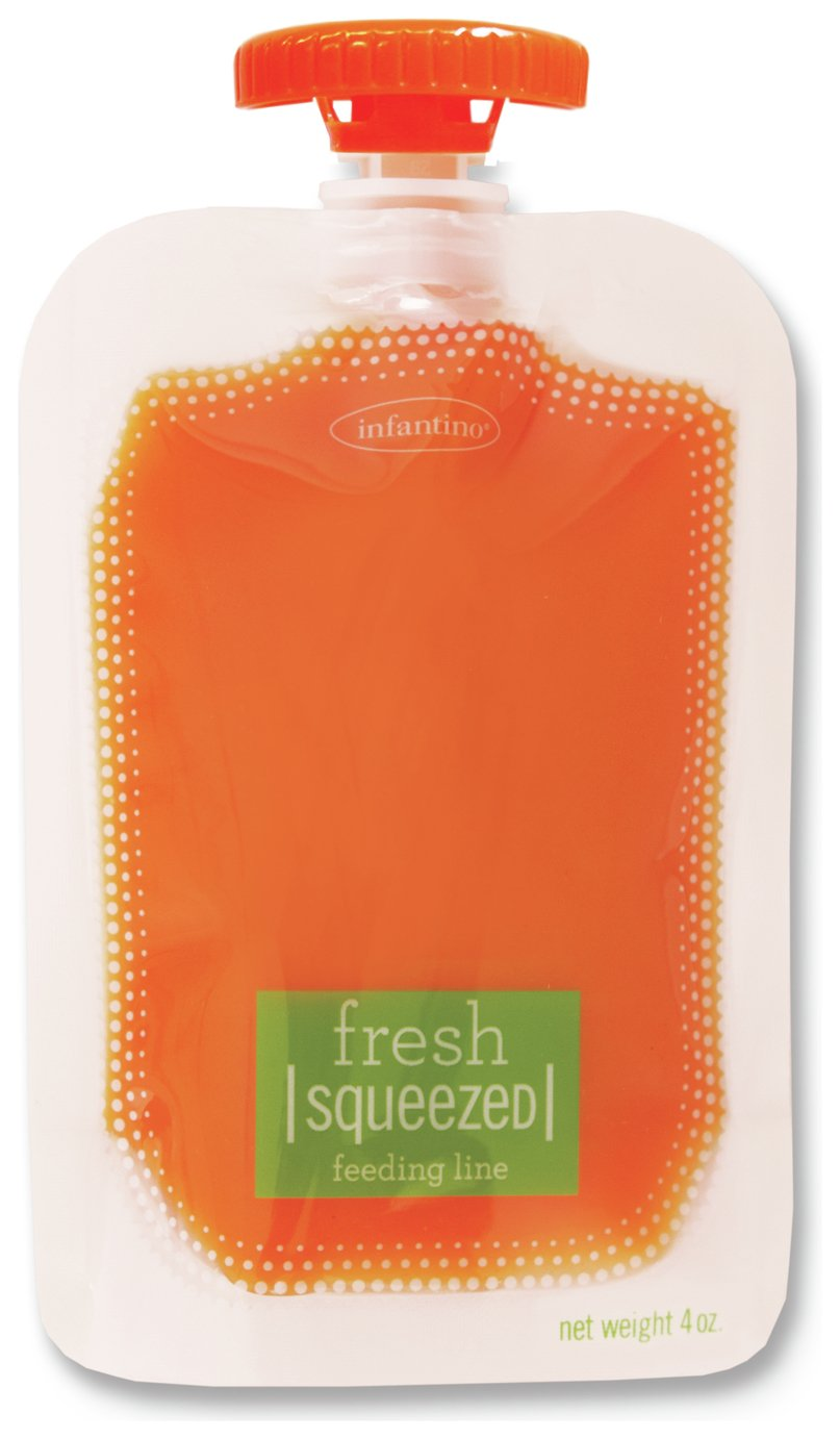 Infantino 50 Pack Squeeze Pouches