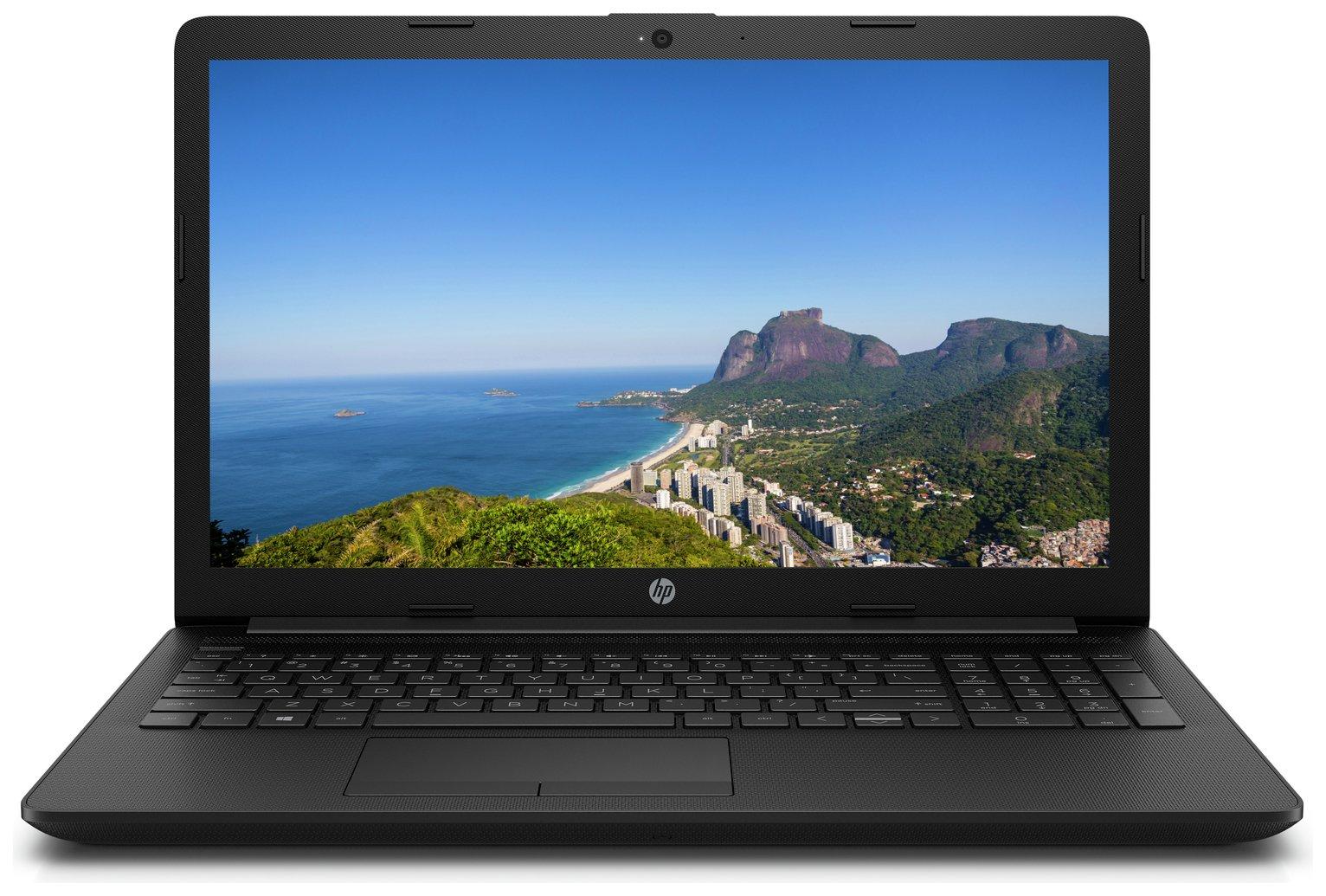 HP 15.6 Inch Celeron 4GB 1TB FHD Laptop - Black