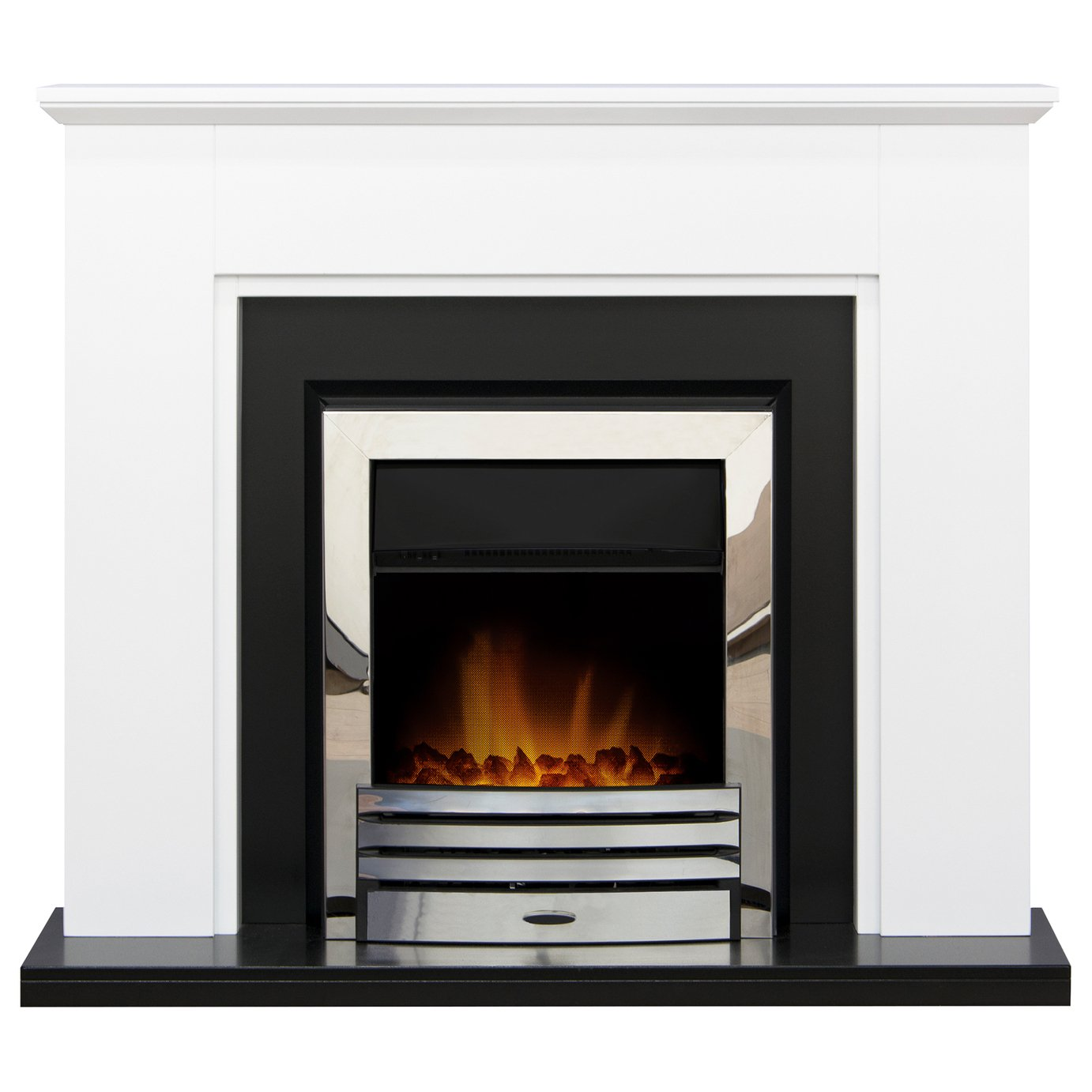 Adam Greenwich Surround with Eclipse 2kW Electric Fire Suite