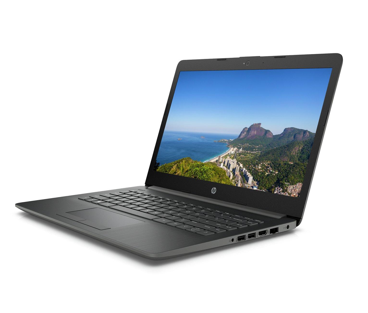 HP 14 Inch AMD A4 4GB 256GB Laptop - Smoke Grey