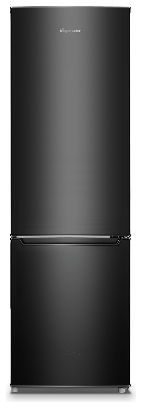 Fridgemaster MC55264AB Fridge Freezer - Black Best Price, Cheapest Prices