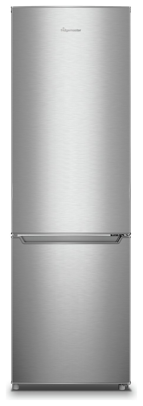 Fridgemaster MC55264AS Fridge Freezer - Silver Best Price, Cheapest Prices