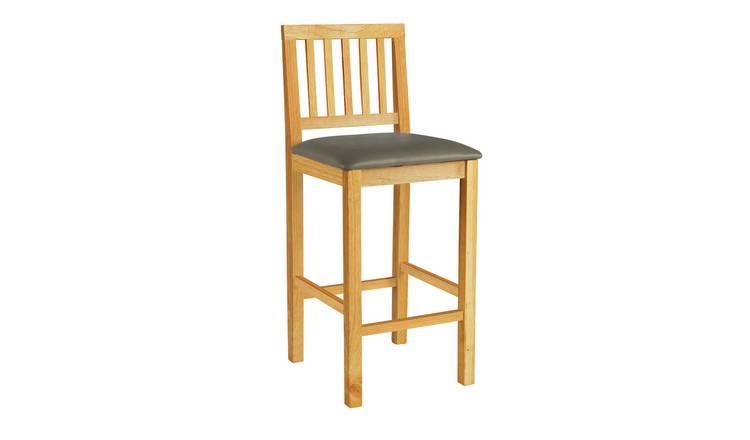 more photos 924db da538 Buy Argos Home Kendal Bar Stool - Natural | Bar stools | Argos