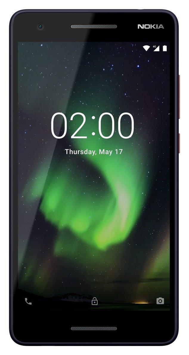 Sim Free Nokia 2.1 Mobile Phone - Blue Copper