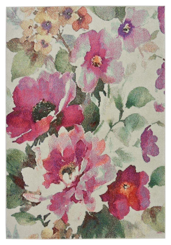Vintage Floral Rug - 160x230cm - Blush