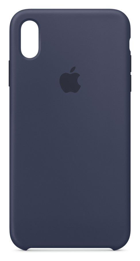 Apple iPhone Xs Max Silicone Phone Case - Blue