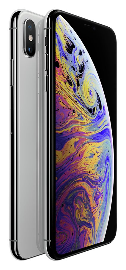 Sim Free iPhone Xs Max 64GB Mobile Phone - Silver