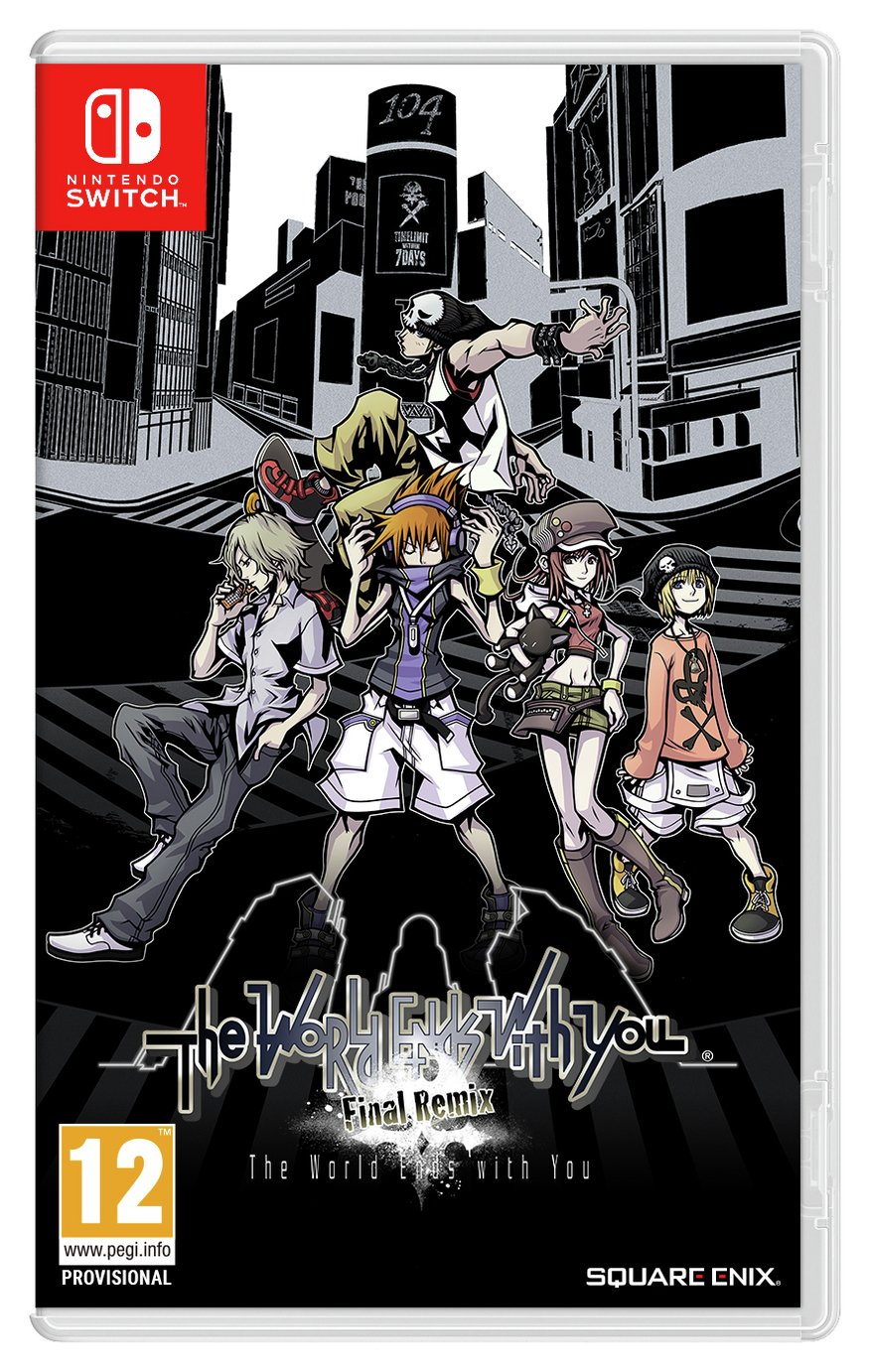 The World Ends With You: Final Remix Nintendo Switch Game