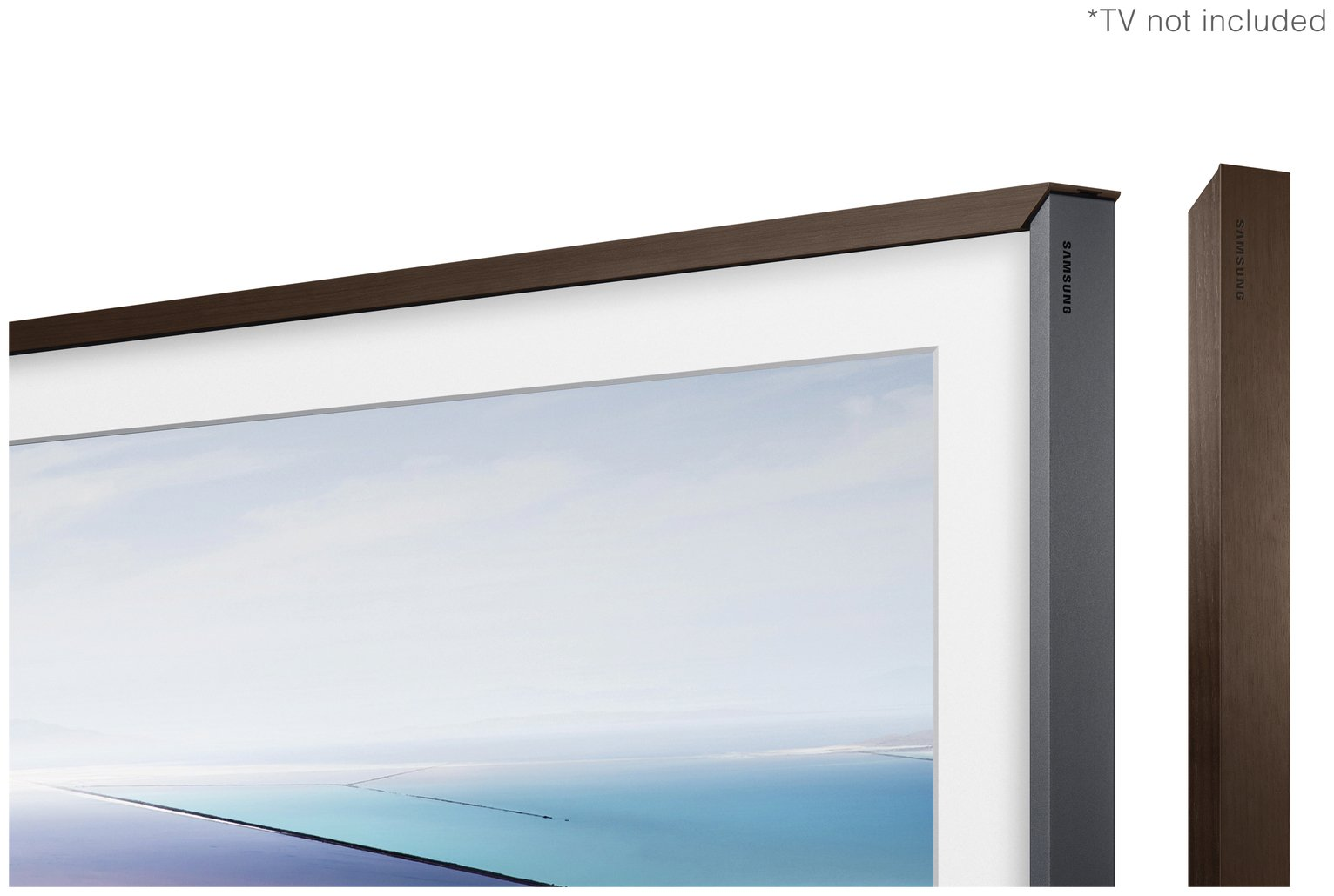 Samsung Customisable Bezel for The Frame 43 Inch TV - Walnut