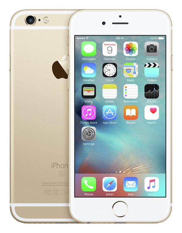 Sim Free iPhone 6s 16GB Premium Pre-owned Mobile phone -Gold