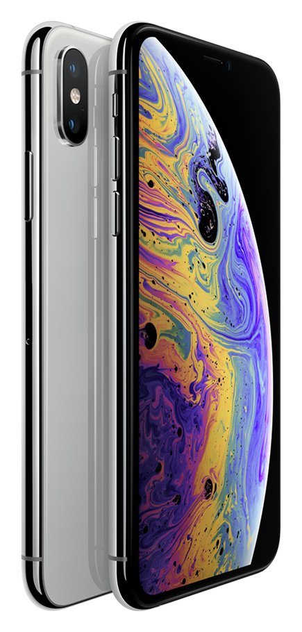 Sim Free iPhone Xs 512GB Mobile Phone - Silver