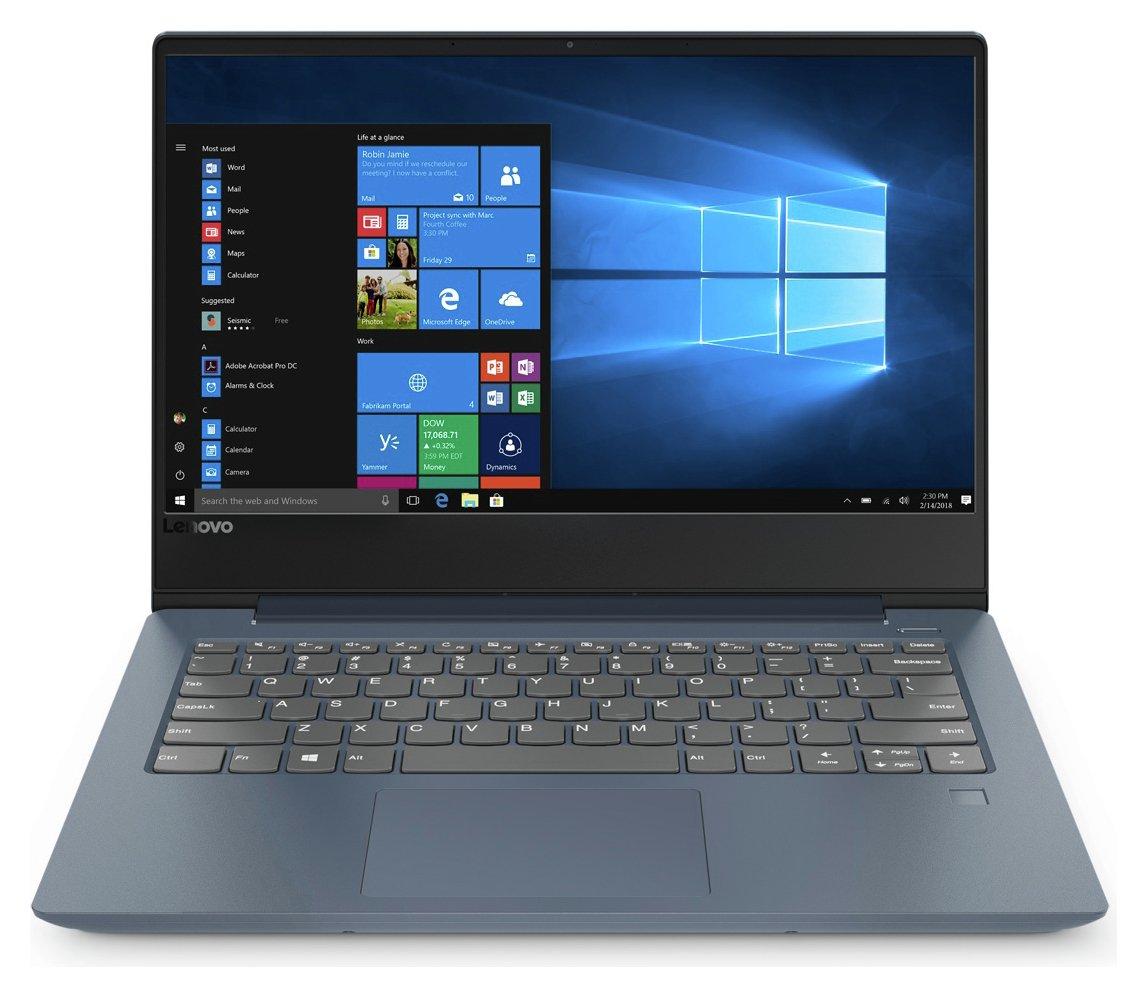 Lenovo 330S 15.6 In Pentium Gold 4GB 128GB Laptop & Bag-Blue