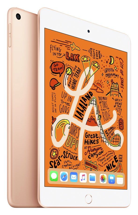 iPad mini 5 2019 7.9 Inch Wi-Fi 64GB - Gold