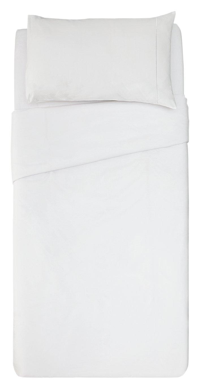 Argos Home Cool Cotton Duvet Set - Single