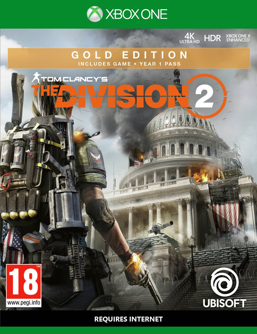 Tom Clancys The Division 2 Gold Edn Xbox One Pre-Order Game