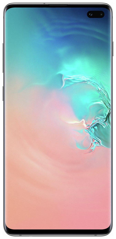 SIM Free Samsung Galaxy S10+ 128GB - Prism White