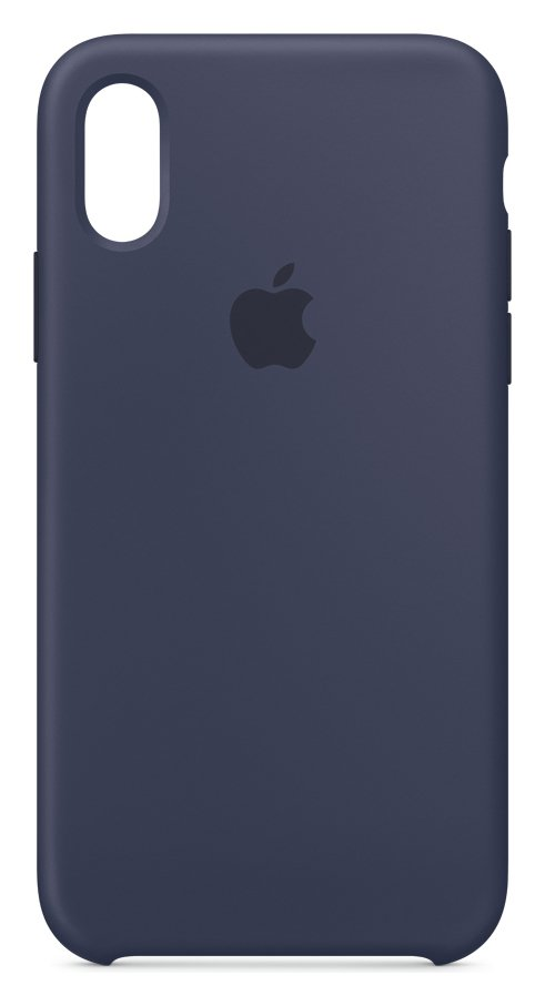 Apple iPhone Xs Silicone Phone Case - Blue