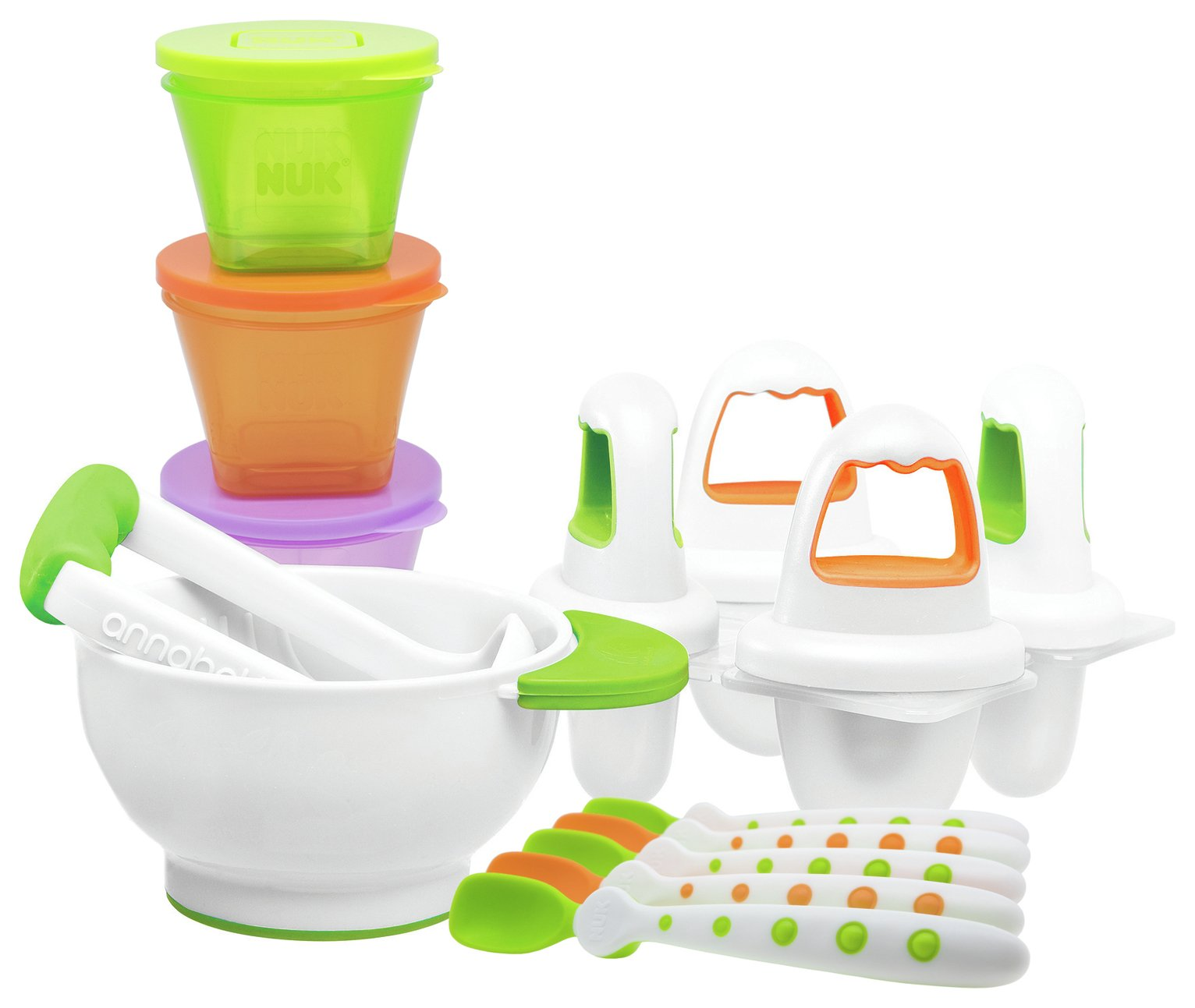 Annabel Karmel by NUK Weaning Set