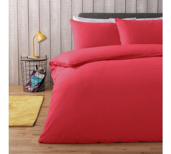 Buy Argos Home Red Bedding Set Kingsize Duvet Cover Sets Argos