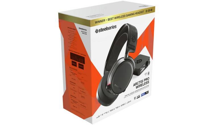 Buy SteelSeries Arctis Pro Wireless PS4 Headset - Black   Gaming headsets    Argos