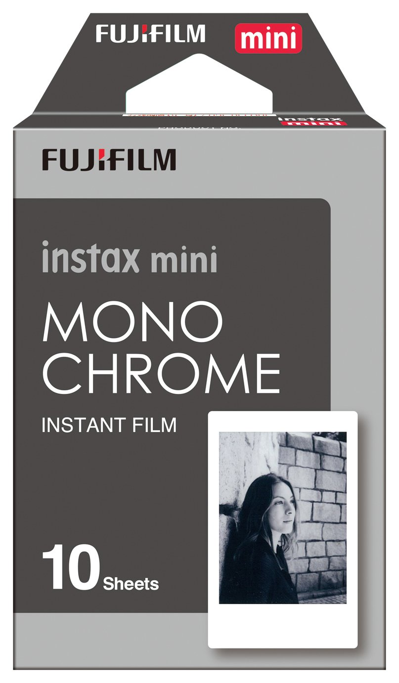Fujifilm Instax Mini Mono Mini Film with 10 Shots