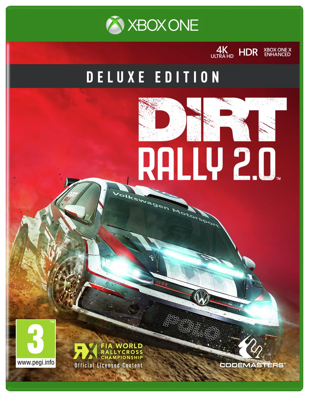 DiRT Rally 2.0 Deluxe Edition Xbox One Game