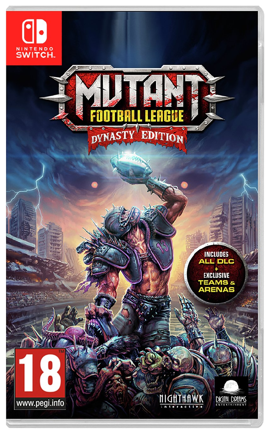 Mutant Football League Nintendo Switch Game