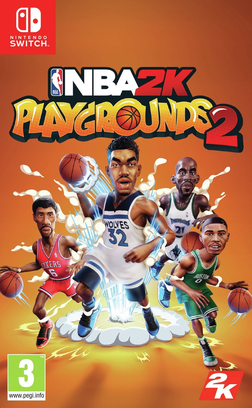 NBA Playgrounds Nintendo Switch Game review