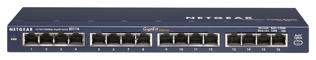 Netgear 16 Port Ethernet Switch review