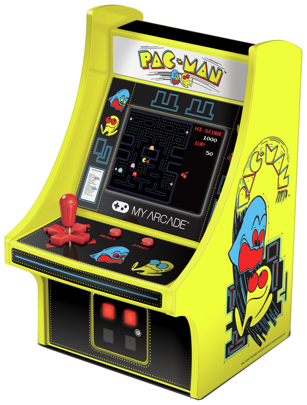 Pacman 6 Inch Retro Mini Arcade Collectible review