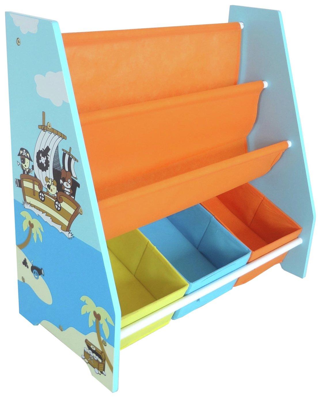 Kiddi Style Blue Pirate Sling Bookshelf review
