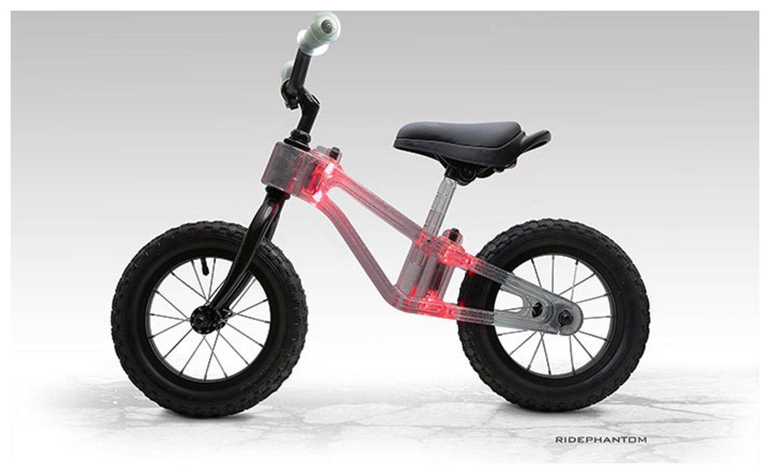 Phantom 12 Inch Red Balance Bike
