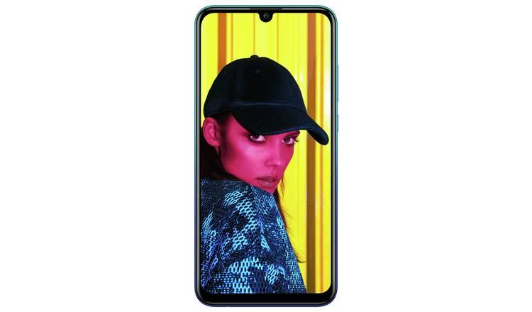 Huawei P Smart 2 Sim Karten.Buy Sim Free Huawei P Smart 2019 64gb Mobile Phone Aurora Blue Sim Free Phones Argos