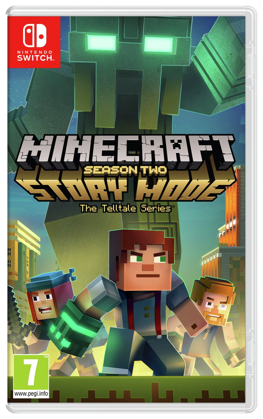 Minecraft Story Mode Season 2 Nintendo Switch Game review