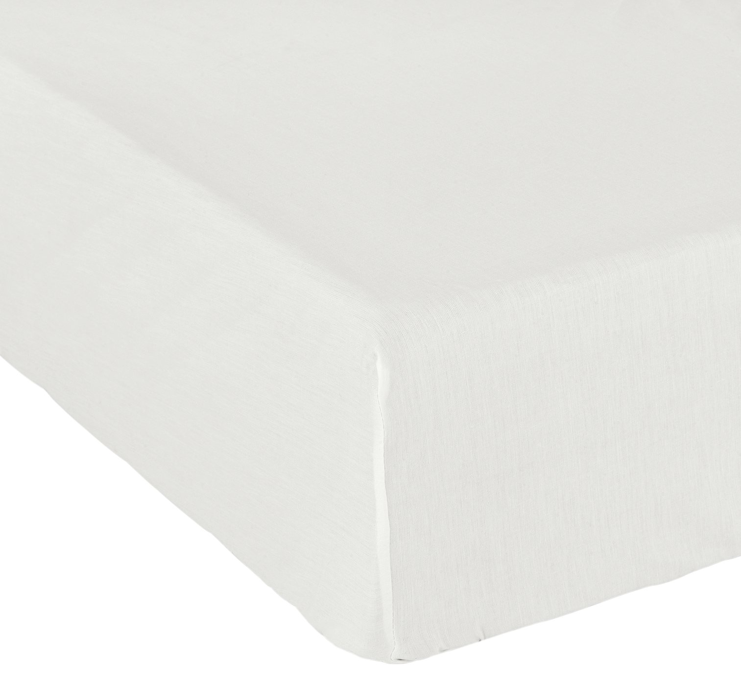 Argos Home Cream Cotton Rich Fitted Sheet review
