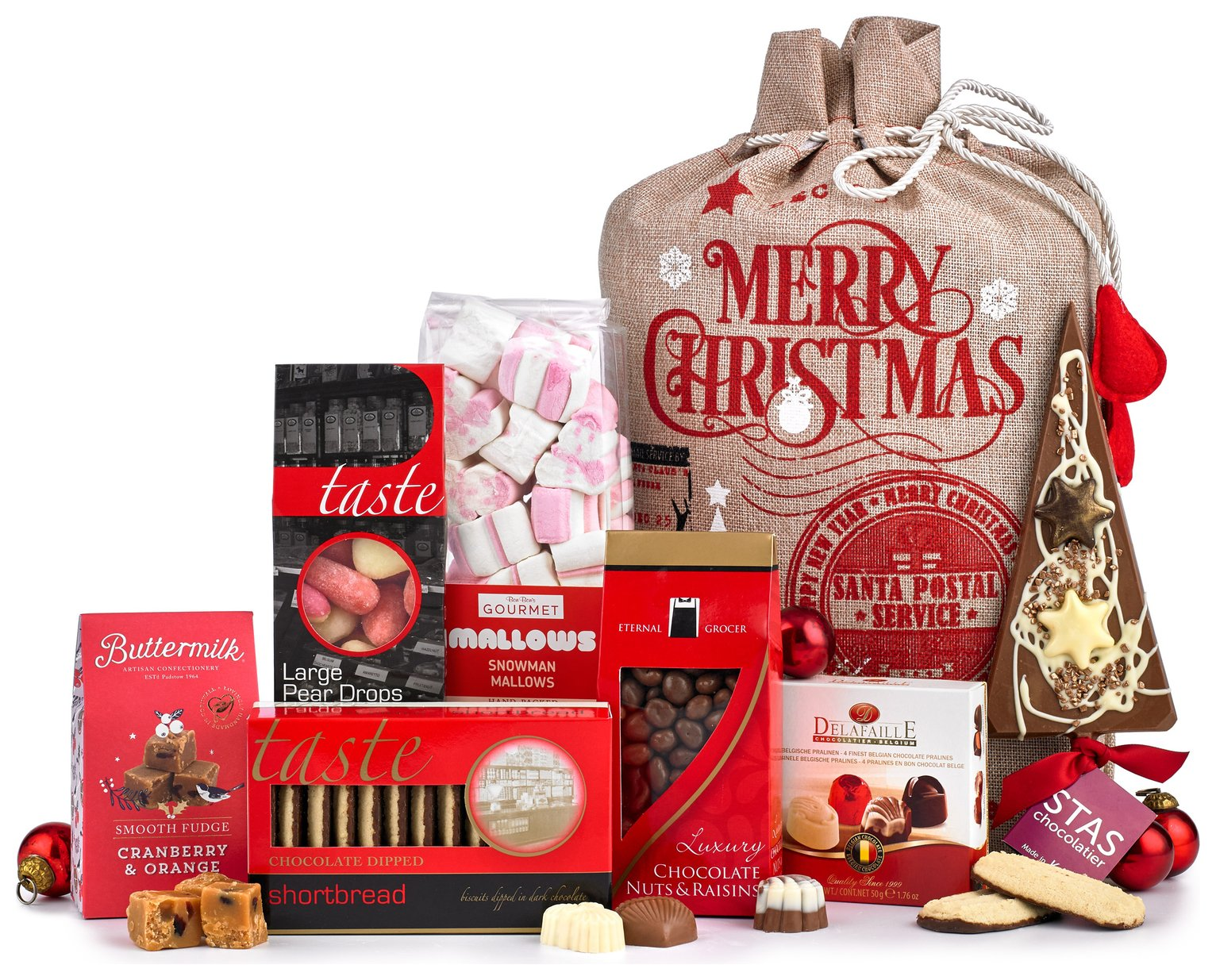 Lanchester Gifts Sweet Treats Christmas Gift Hamper